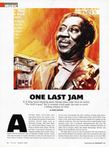 One Last Jam, Chicago Magazine